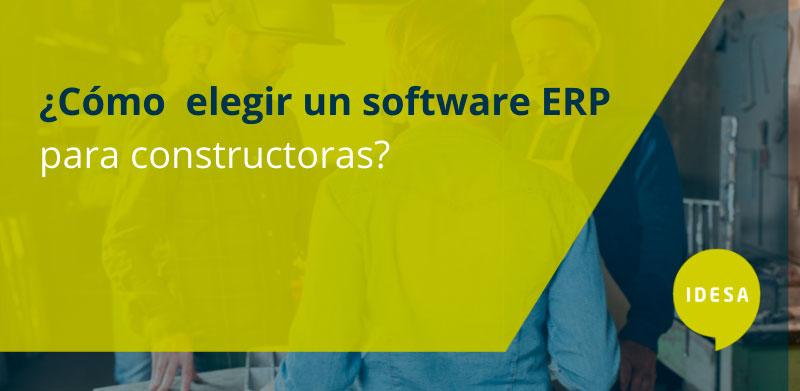 software ERP para constructoras